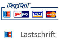 PayPal Lastschrift - PayPal Plus - PayPal Kreditkarte